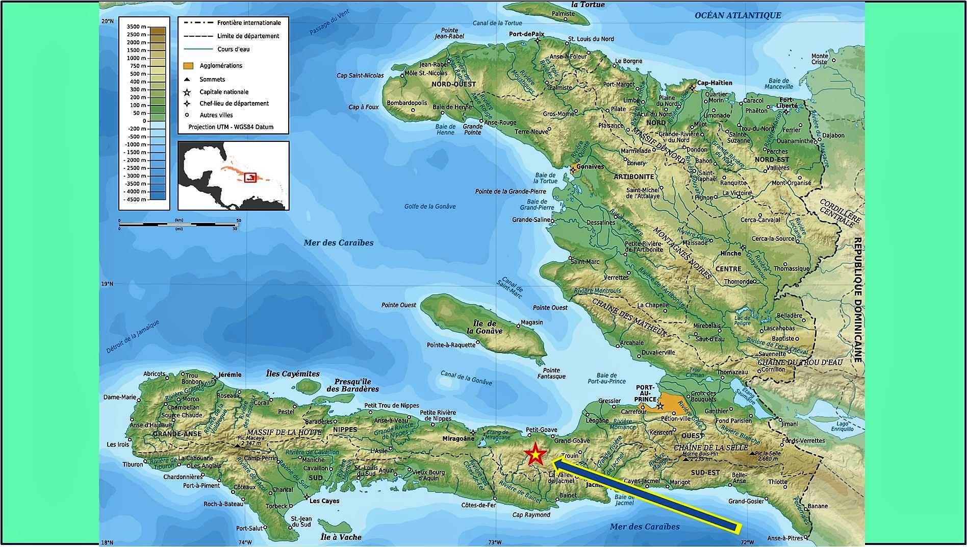 carte Haïti 2