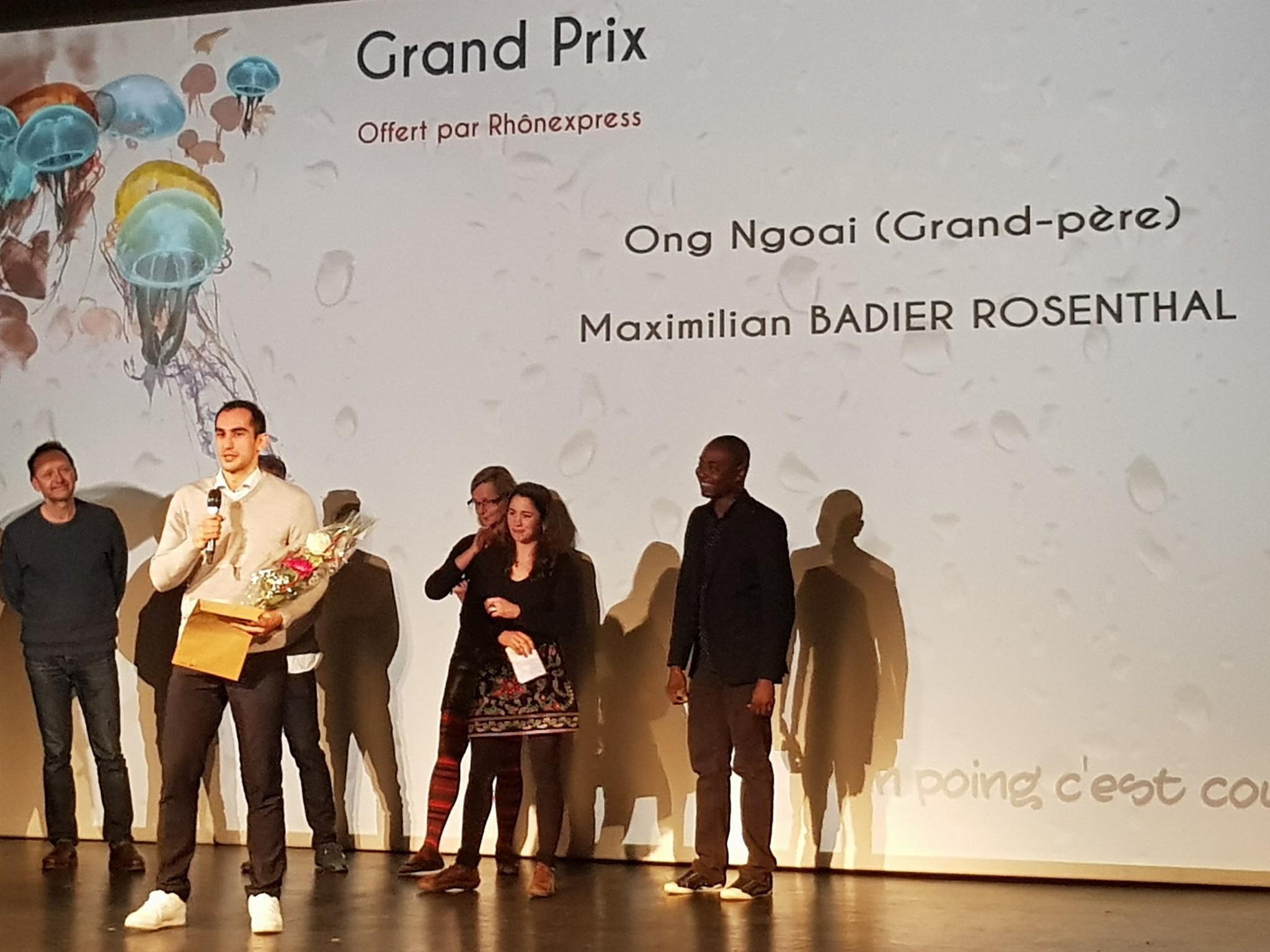 Grand Prix et Marc Henry (à droite)