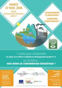 Changement climatique - Vers moins de consomation energetique